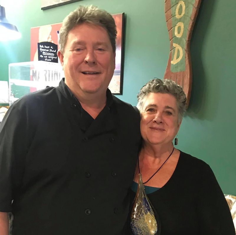 Steve and Karyn Current owners of Current Cuisine in Yellow Springs. CONTRIBUTED